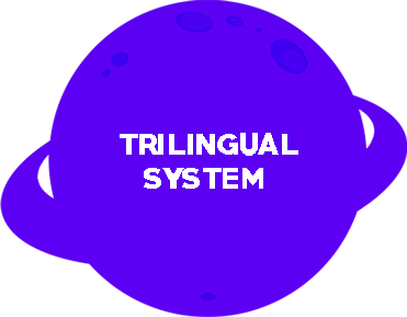 Tiny Planet sistema-trilingue