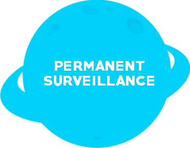 Tiny Planet vigilancia-permanente