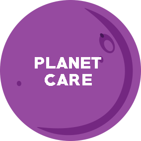 Tiny Planet ´lanet-care